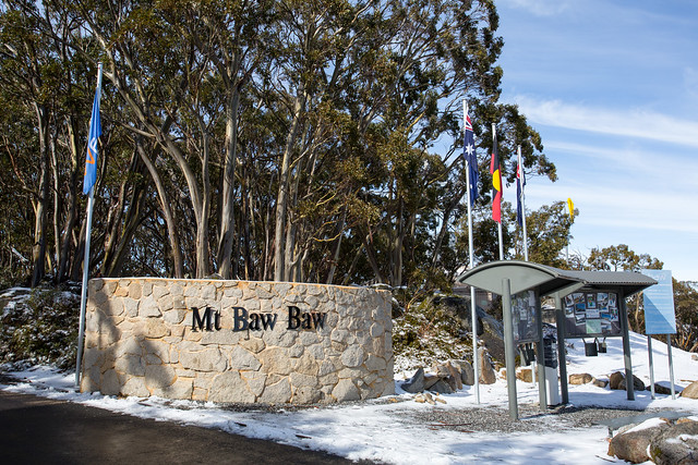 Mount Baw Baw entrance gate