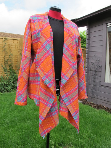 Orange Wool Jacket