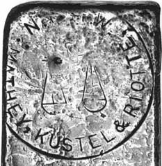 129-Mathey, Kustel & Riotte Silver Ingot-1alogo - Copy