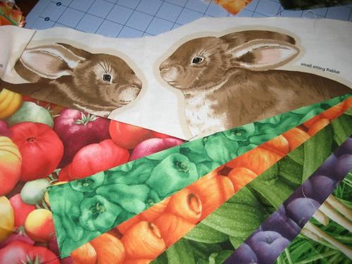 bunnies & veg