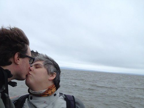 Kissing at Cape Enrage