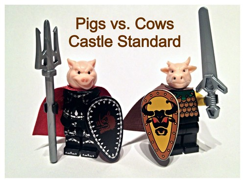 "Proposed ""standard"" for PvC castle armies."