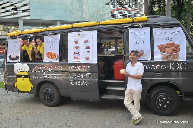 JASPER'S House of Chicken Food Truck Story @JaspersHOC @CucinaAndare