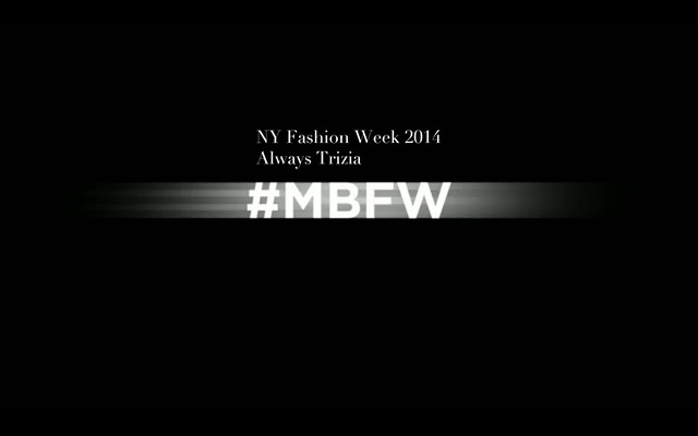 NY Fashion Week 2014 Always Trizia013