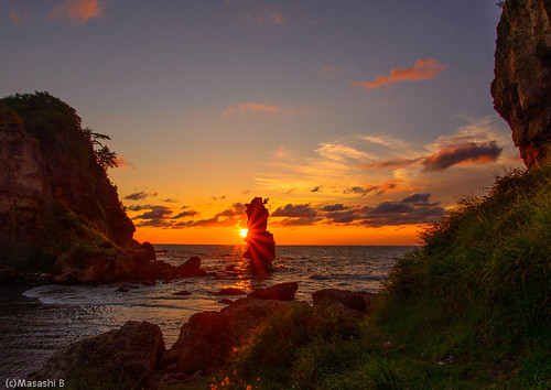 ocean sunset sea japan ngc 日本 shimane 夕景 夕日 matsushima 夕焼け 名勝 島根県 ohda 大田市 02景色 掛戸松島