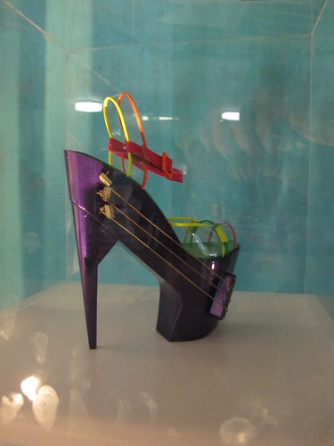 E-Shoe: A High Heeled Shoe Guitar
