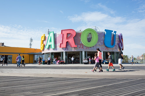 b&b carousell, coney island boardwalk