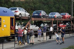 Na Slovensko autovlakem