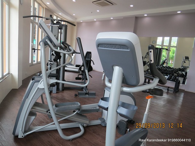 Gym - Sangria Towers, Megapolis, Hinjewadi Phase 3, Pune 411 057 on 28th & 29th September 2013