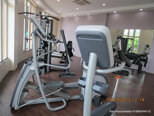 Gym - Sangria Towers, Megapolis, Hinjewadi Phase 3, Pune 411 057 on 28th & 29th September 2013