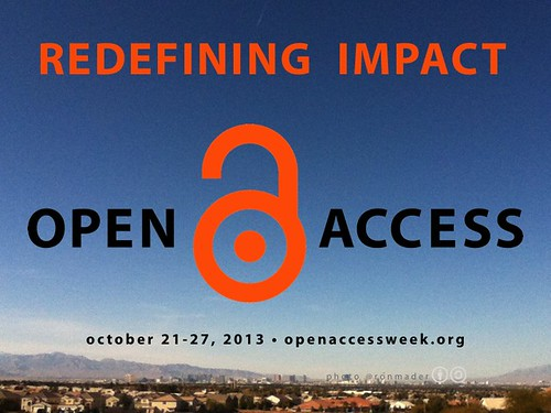 Redefining Impact: Open Access Week 2013