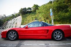 automobile(1.0), automotive exterior(1.0), wheel(1.0), vehicle(1.0), automotive design(1.0), honda nsx(1.0), land vehicle(1.0), luxury vehicle(1.0), coupã©(1.0), supercar(1.0), sports car(1.0),