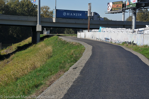 New section of Columbia Slough path-12