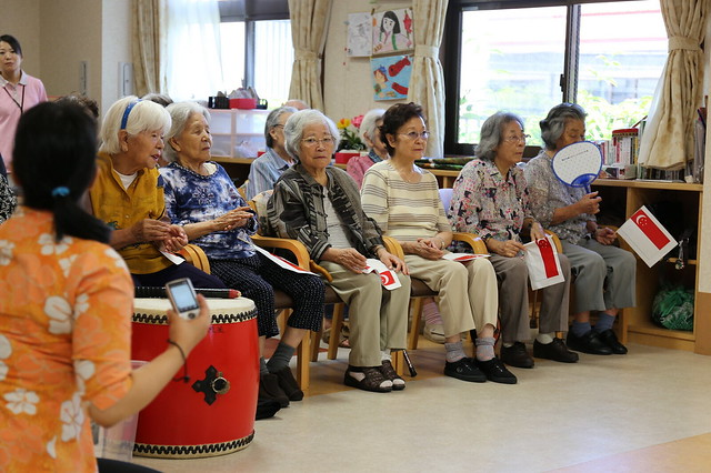 Utopia has a day care centre which offers programs for mobile elderly