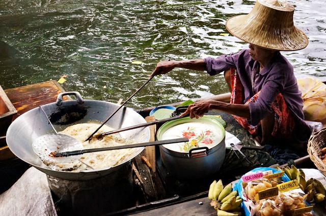 Chao Phraya Floating Market Thailand
