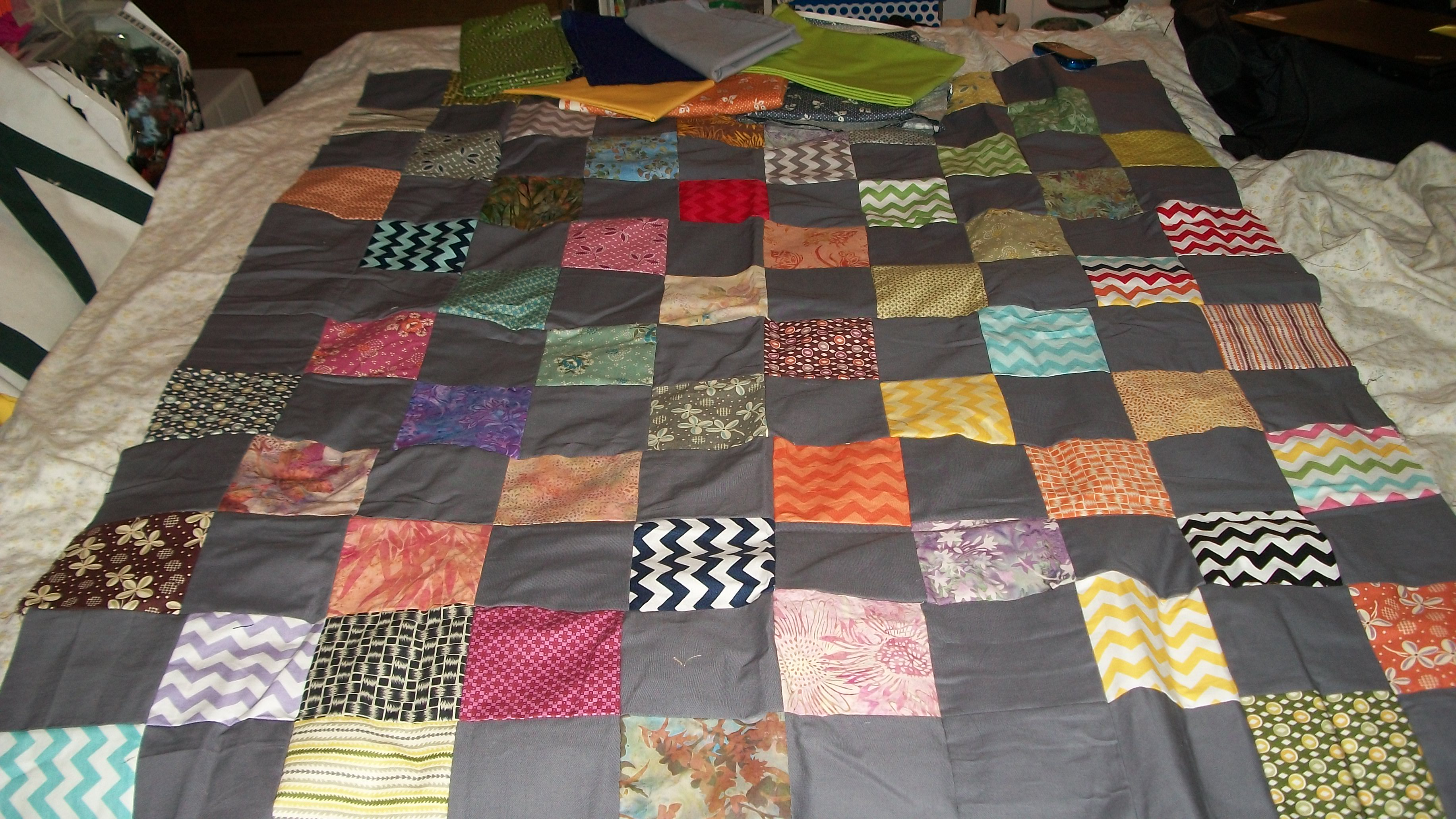 quilt.  before unsewing