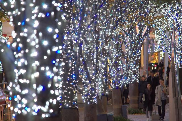 東京イルミネーション2013 六本木けやき坂通り Roppongi Keyagizaka street