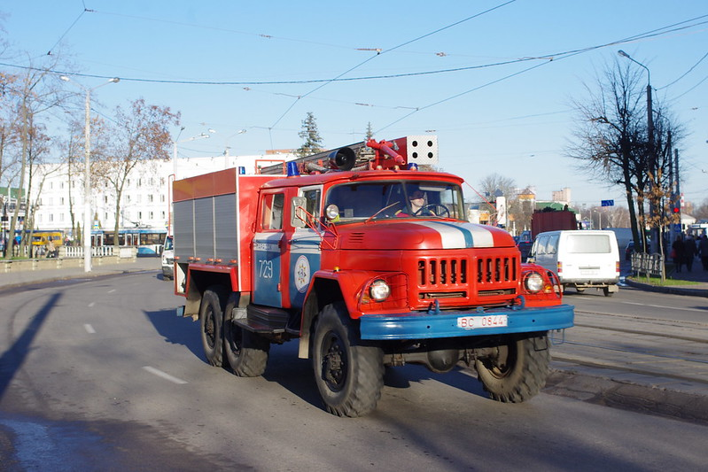 ZIL-131 fire truck - cars in Belarus