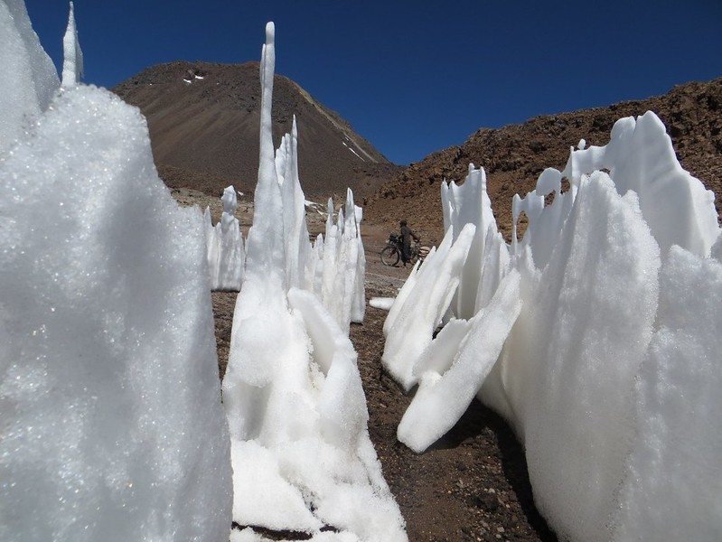 Pushing past the penitentes