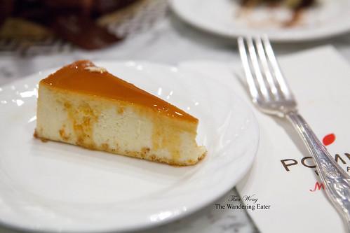 Orange Crème Brûlée Cheesecake