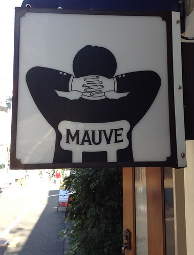 Shop Sign - Mauve