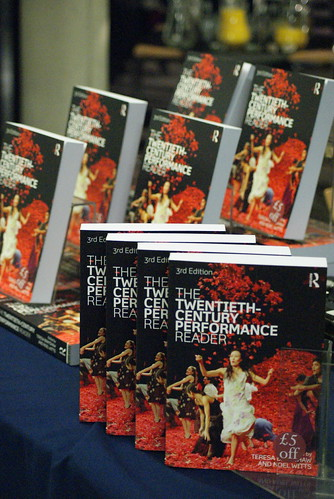 The Twentieth-Century Performance Reader launch