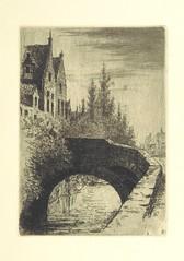 """British Library digitised image from page 29 of """"Aan het Minnewater. 3 schetsen uit het Brugsche leven"""""""