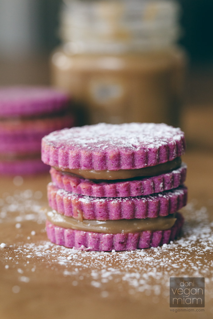 Purple Sweet Potato Alfajores