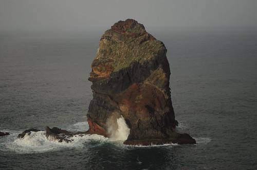 Sea stack at Ponta de São Lourenço