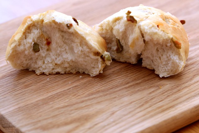 Olive & Chilli Bread