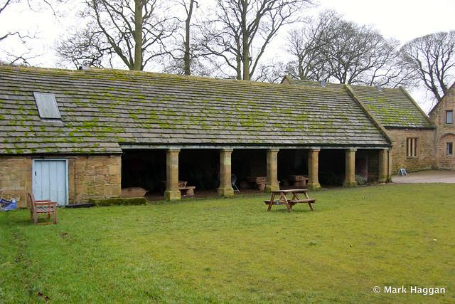The Blacksmith's yard at Hardwick Hall