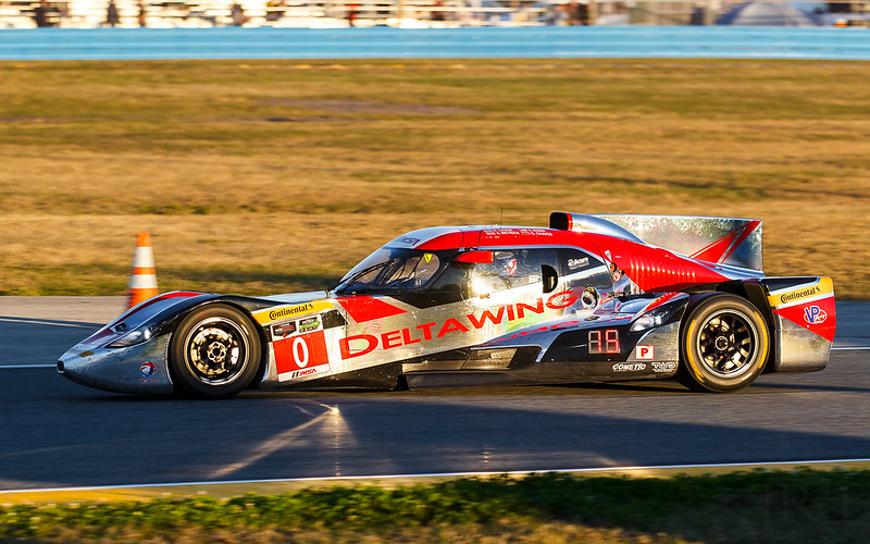 The Deltawing sure does shine!