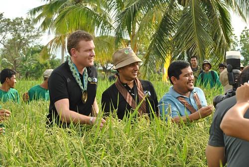 New Zealand Ambassador visits FAO project