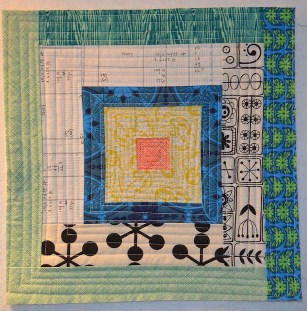 Colourful block for Alison