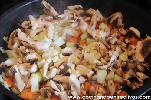 Macarrones integrales con verduras www.cocinandoentreolivos (5)