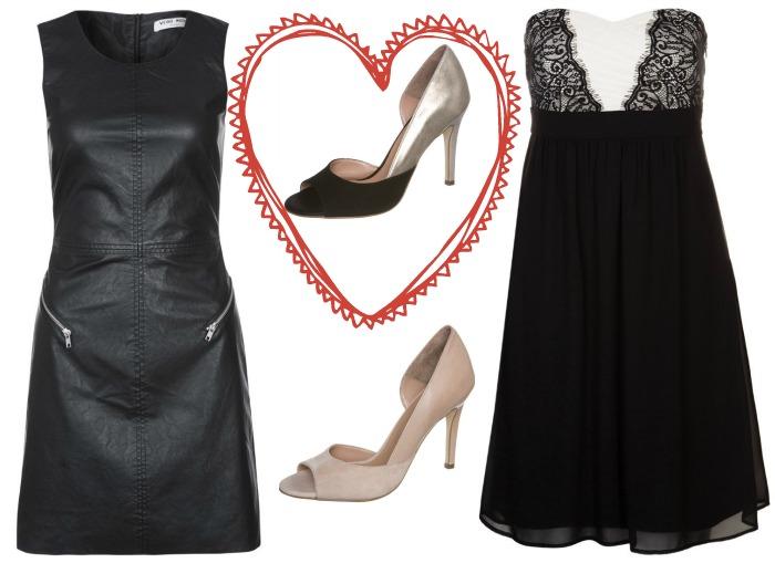 vestidos negros san valentin