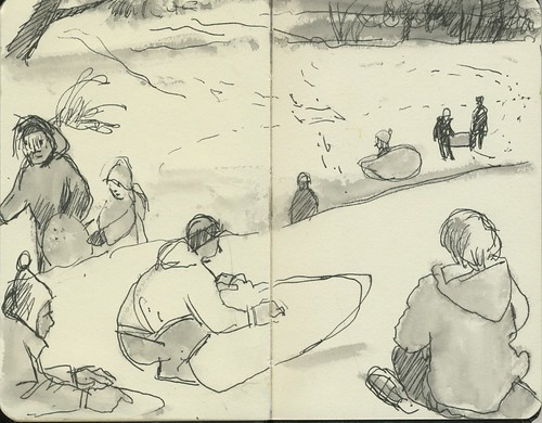 sledding at edgerton by Bricoleur's Daughter
