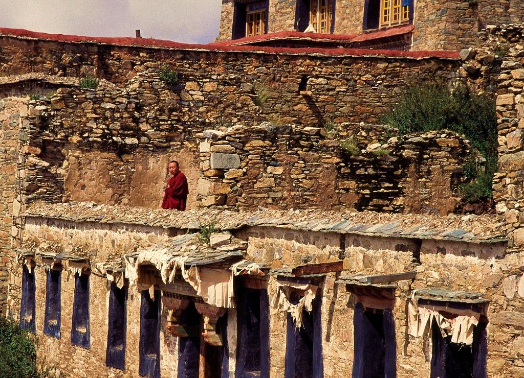 5. Monje en el monasterio de Ganden. Auror, Erik Törner