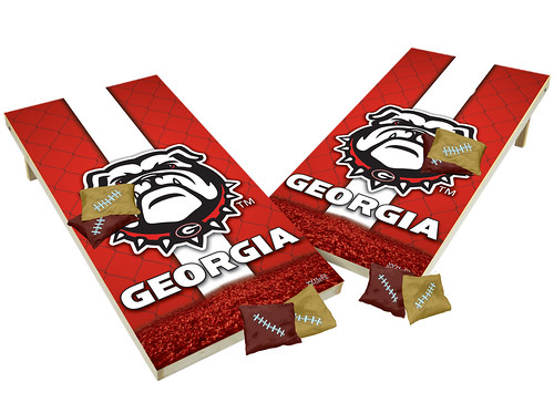 Georgia Bulldogs Custom Cornhole Boards XL