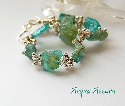 Acqua Azzura Bracelet by gemwaithnia