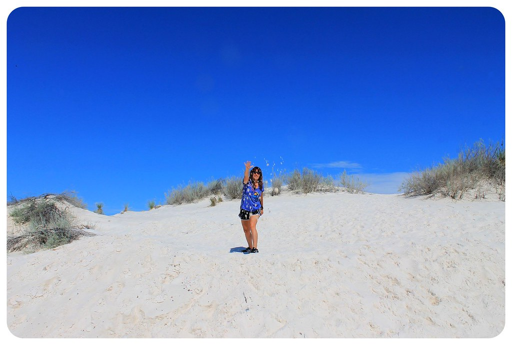 White Sands New Mexico jess