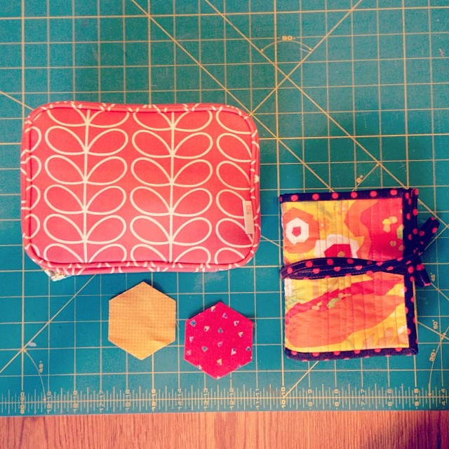 hand sewing kits (handmade & orla kiely etc. case) @redheadwiththread
