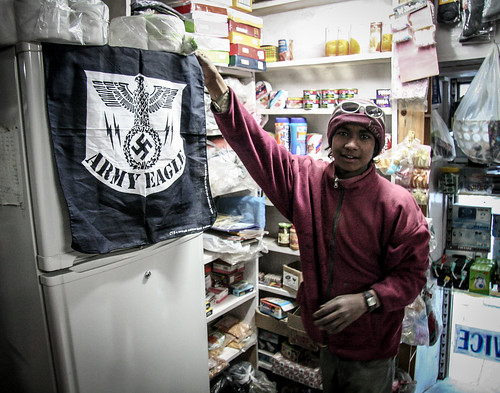 A nazi bandana in Nepal?
