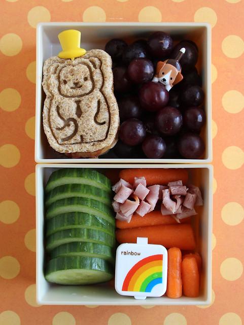 Preschooler Bento #612