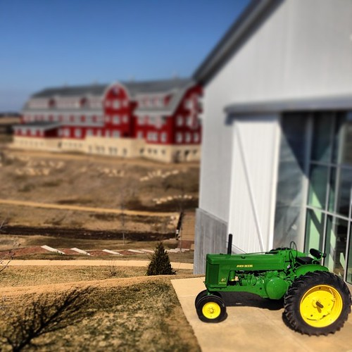 John Deere as art. @EPIC