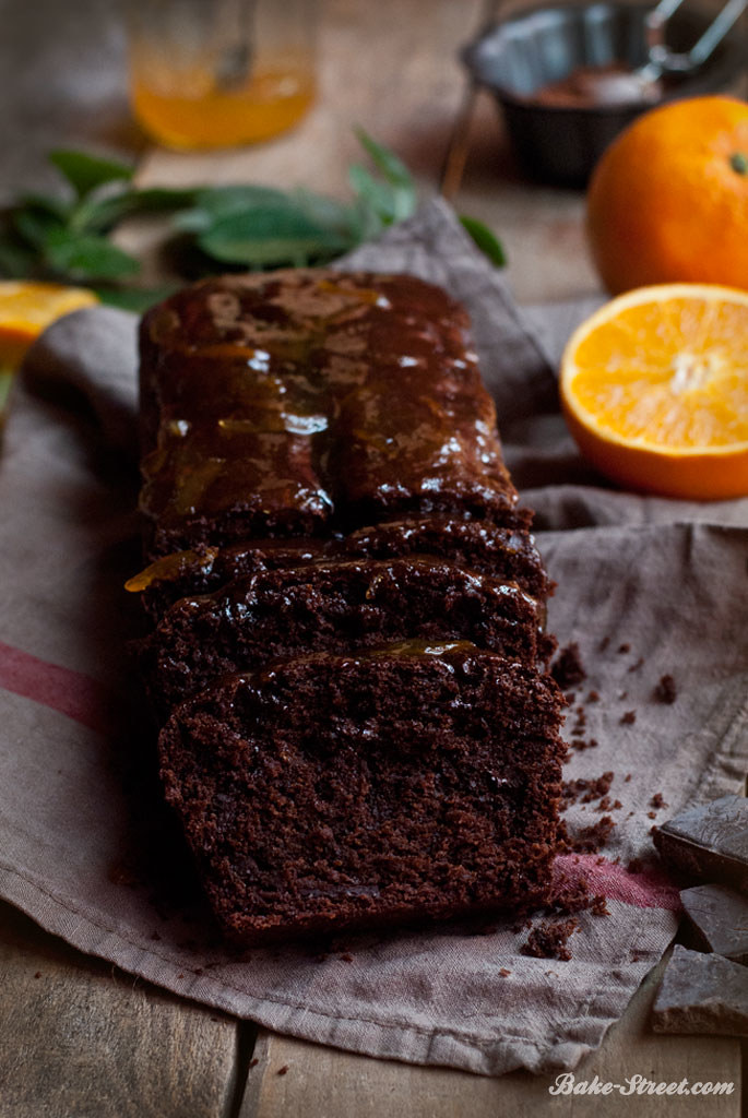 Chocolate & Naranja Loaf Cake