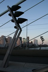 Across the Erasmus bridge