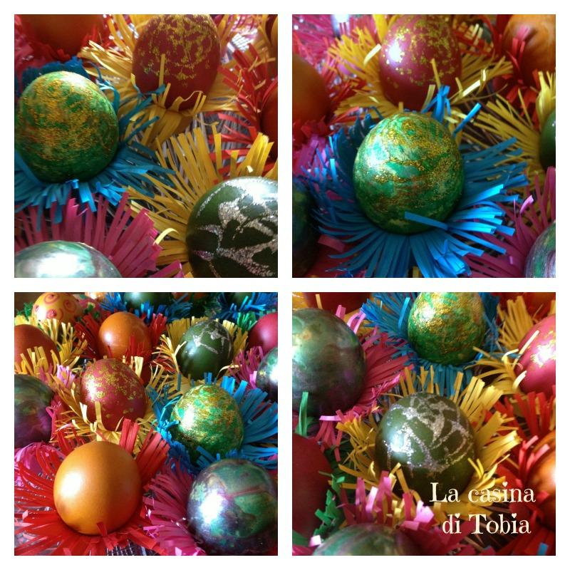 Uova decorate per Pasqua