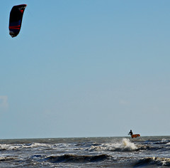 Kite Surfing at Camber Sands
