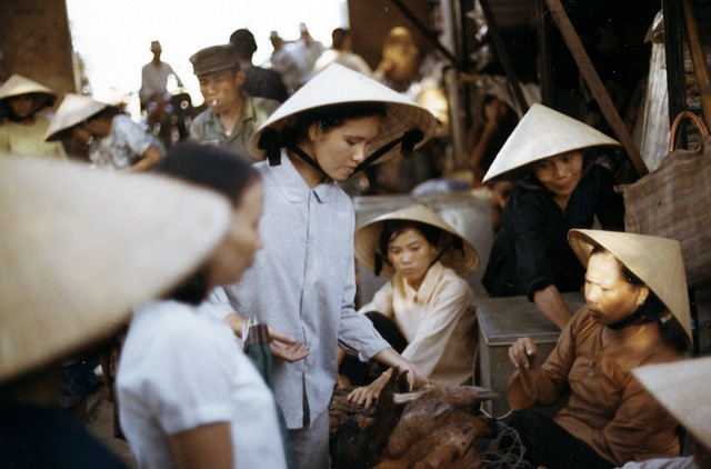 Chu Lai, Local Market. 1971
